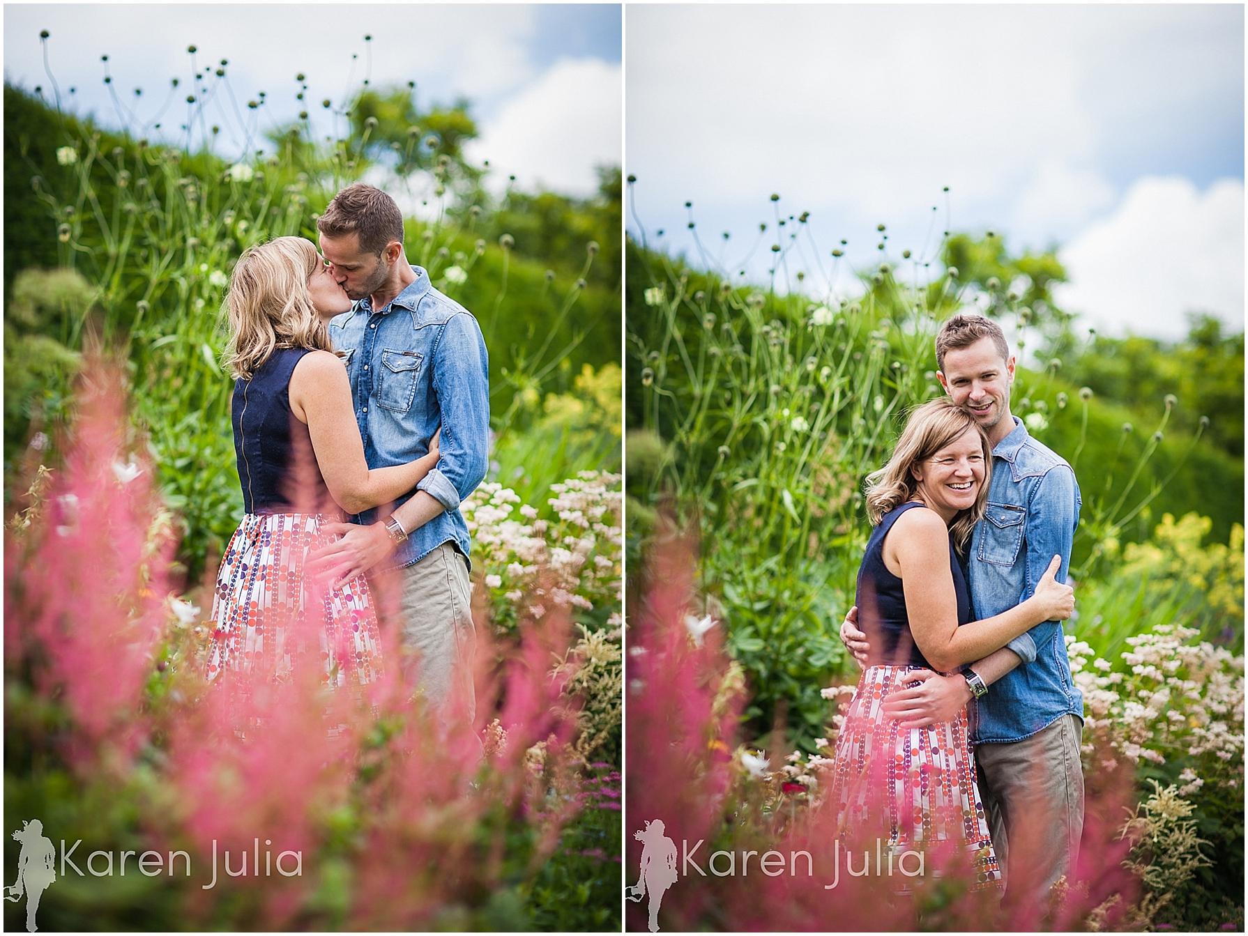 Arley Hall Engagement Shoot