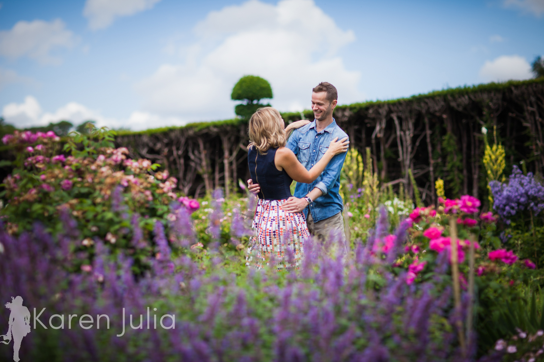 Arley Hall Engagement Shoot