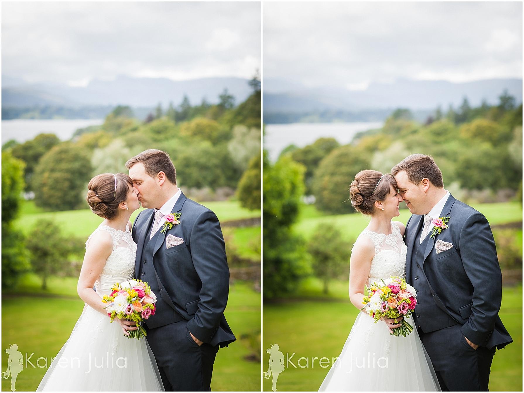 Miller Howe Hotel Summer Wedding Photography