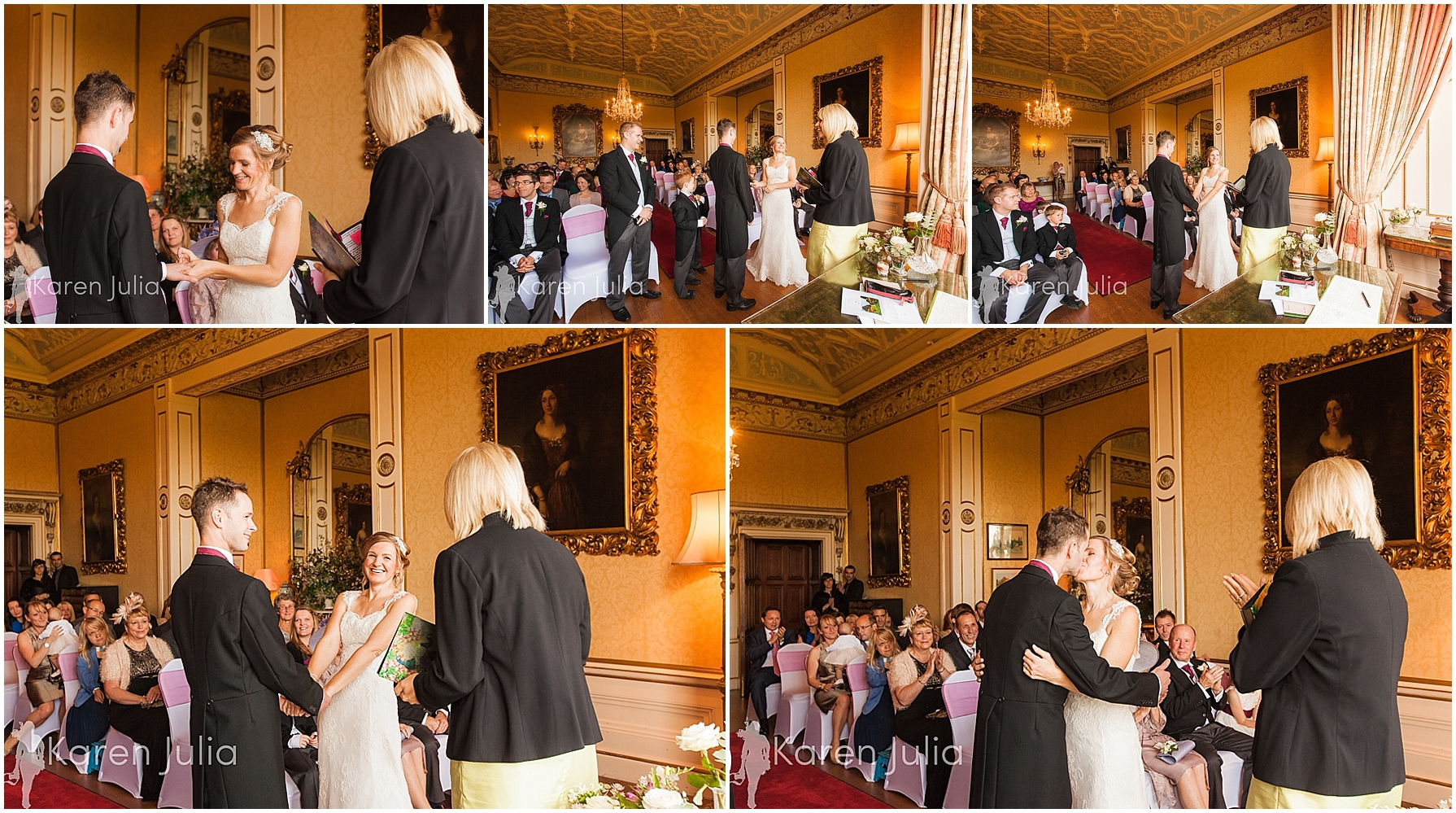 Arley Hall Winter Wedding