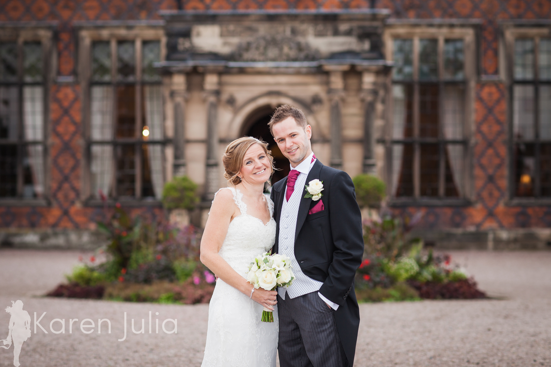 Arley Hall Autumn Wedding