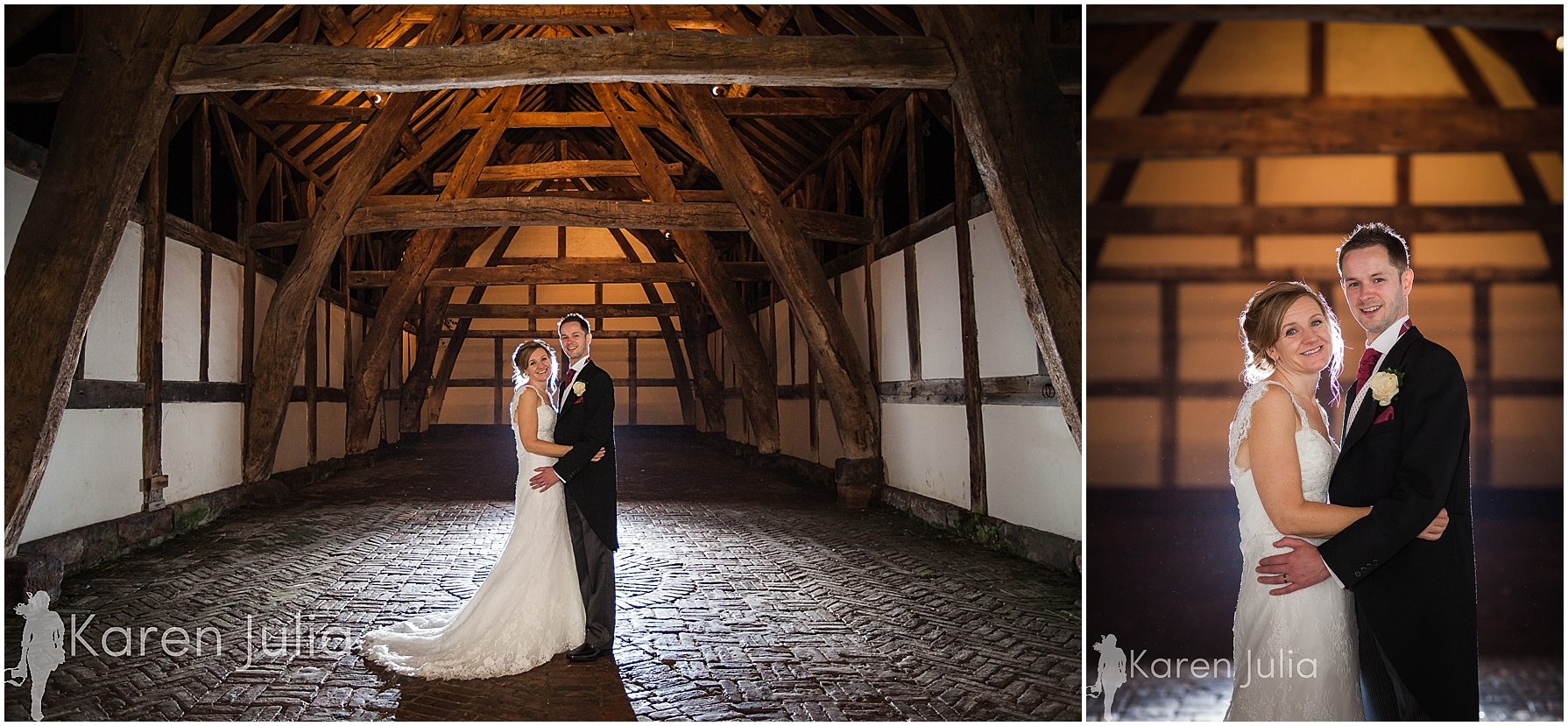 Arley Hall Autumn Wedding