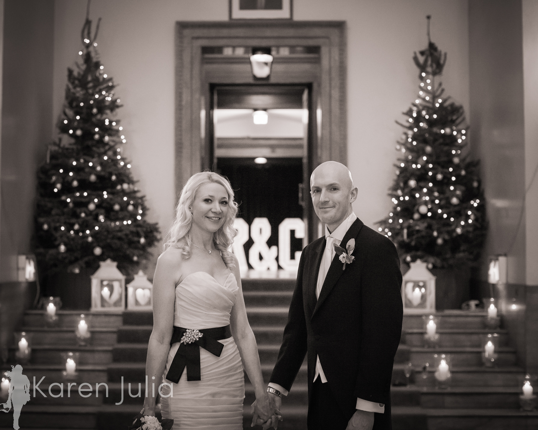 Manchester Hall Winter Wedding Photography