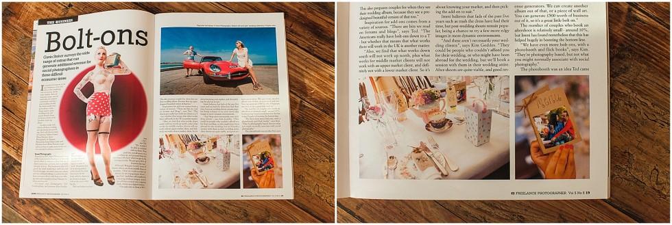 Published Work F2 Magazine
