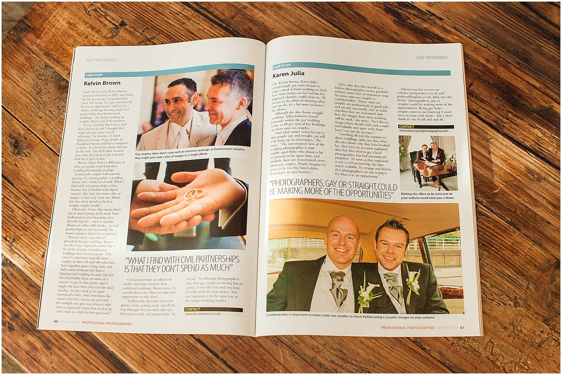 Published Work Professional Photographer Magazine