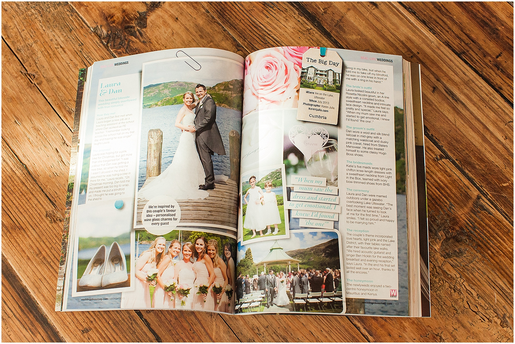 Published Work | Wedding Photographer Karen Julia