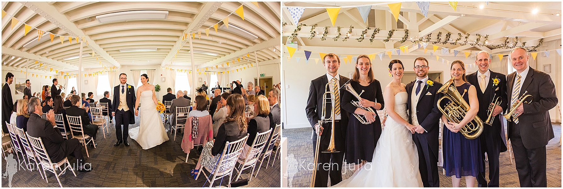 Love Actually Style Wedding Ceremony Surprise