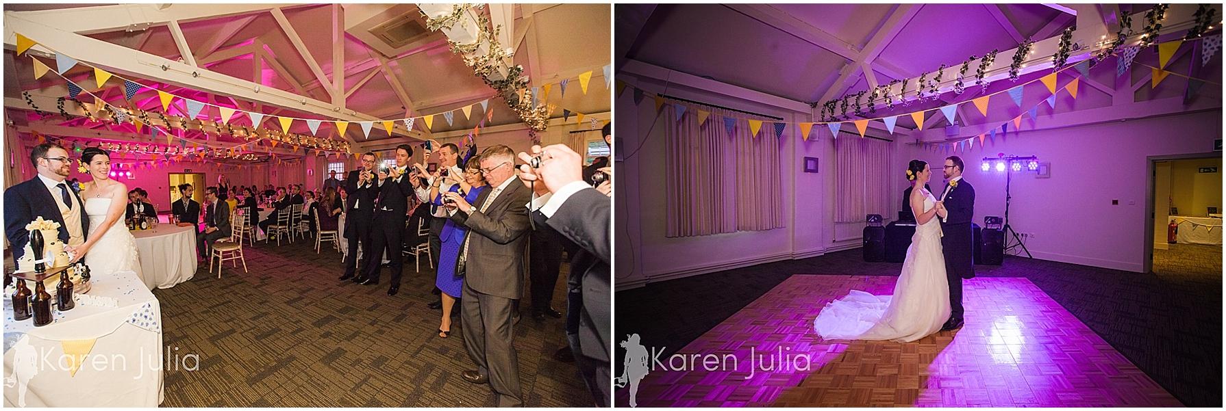 Quarry Bank Mill wedding first dance