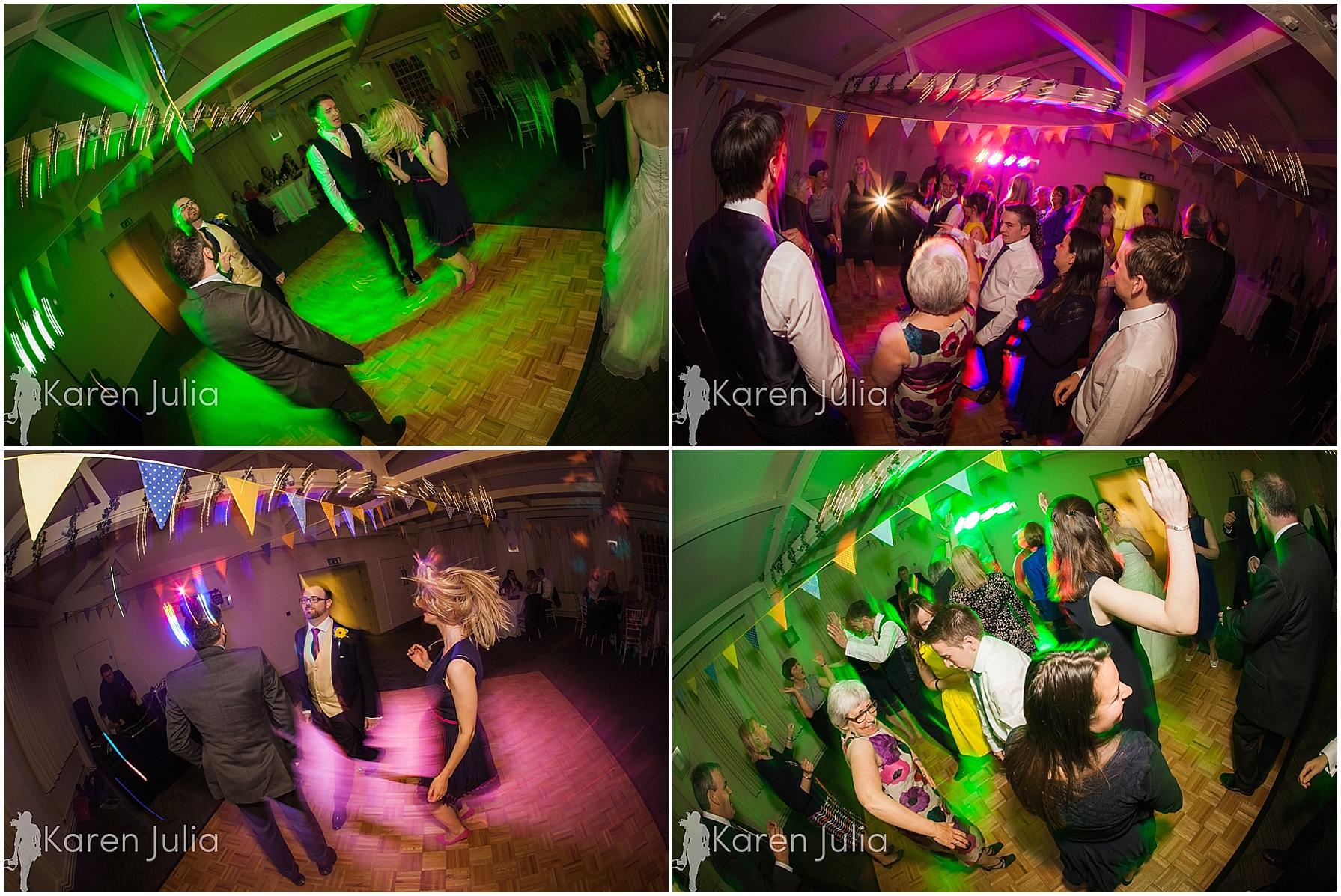 Quarry Bank Mill wedding dance floor