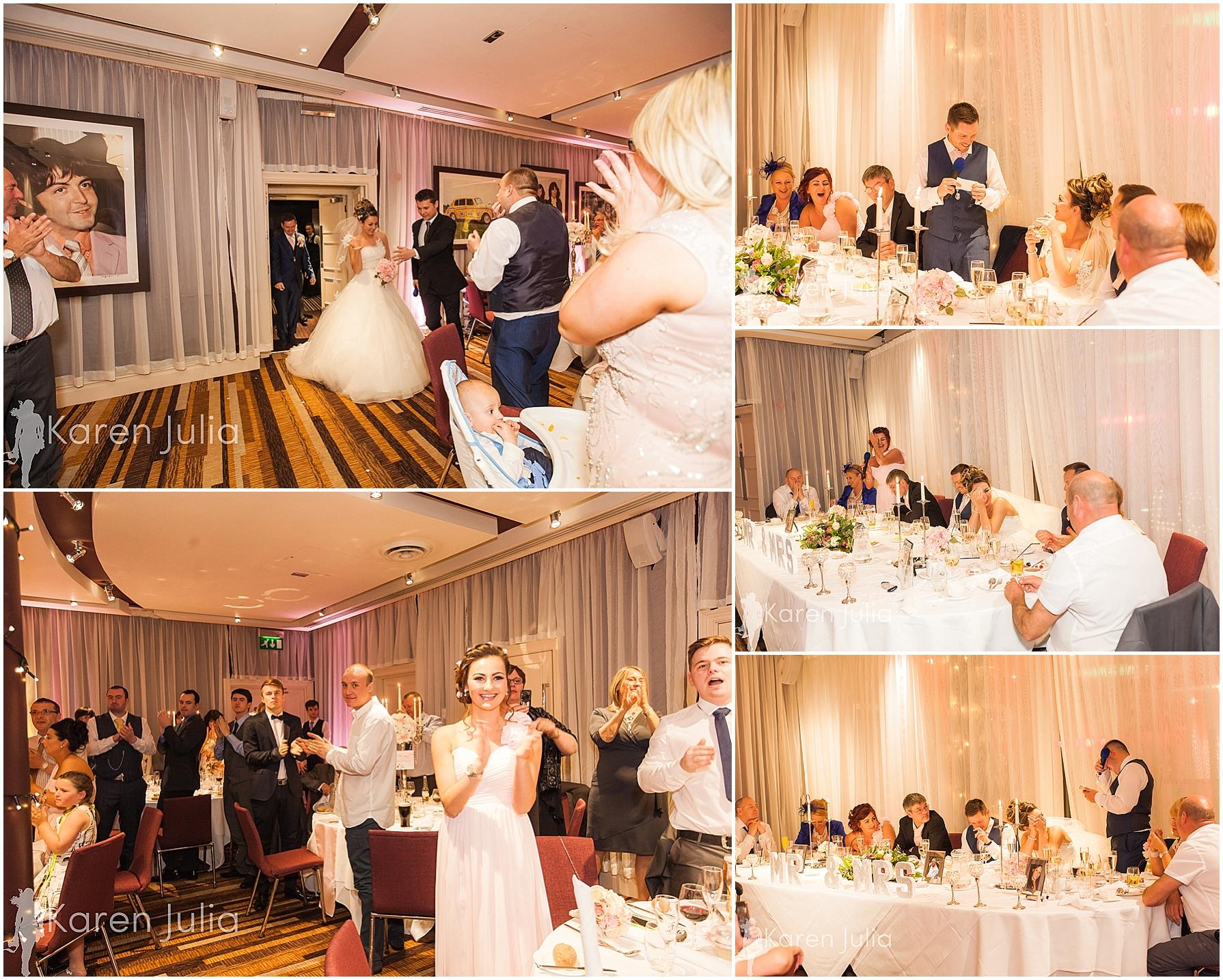 Zygmant suite wedding reception