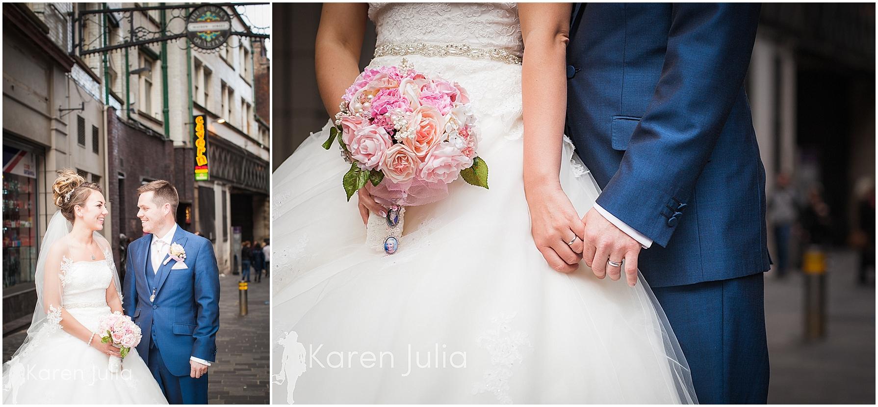 Matthew Street wedding portraits