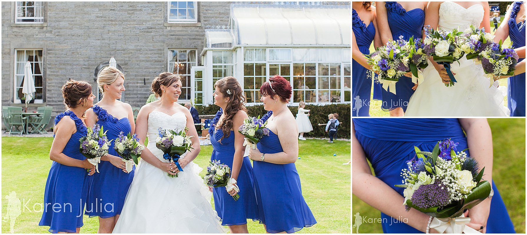 bridesmaids photos spring house hotel