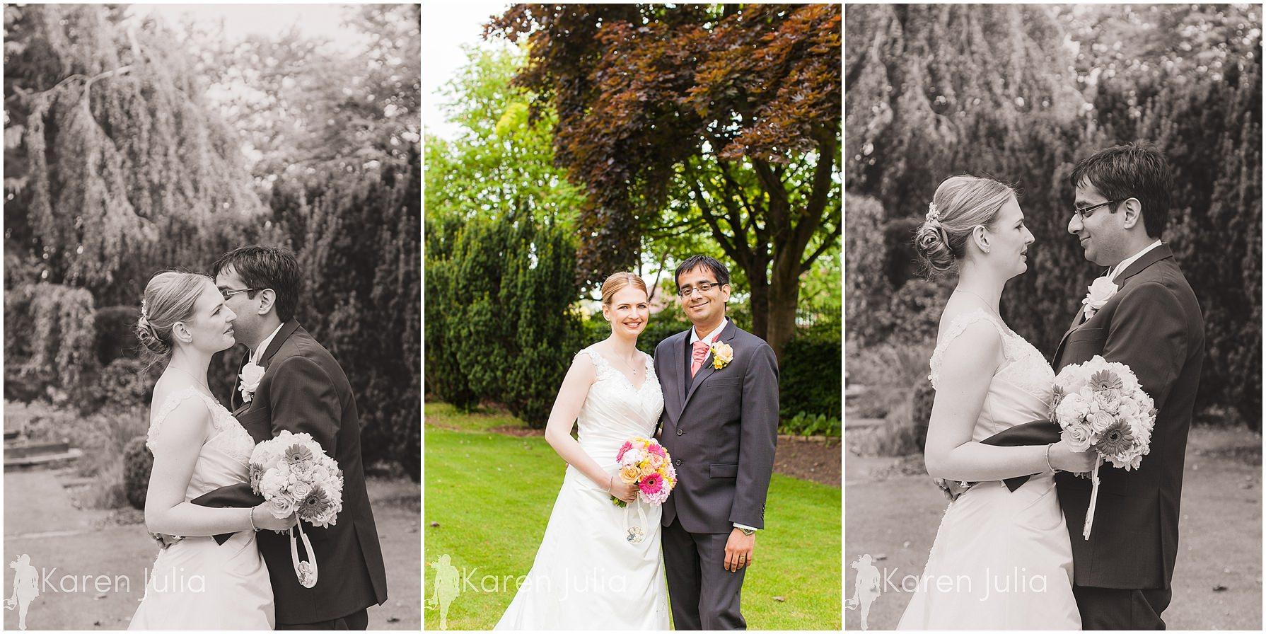 bride & groom pinewood hotel