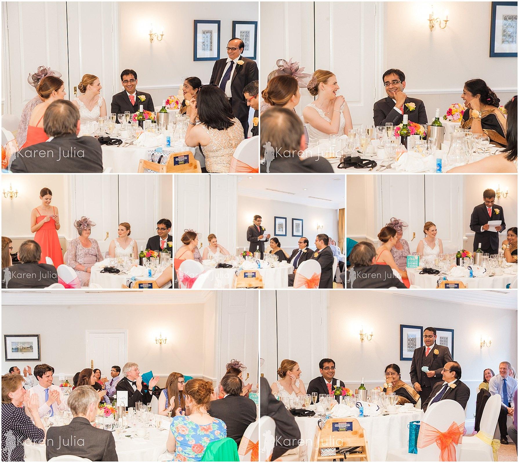 wedding breakfast speeches pinewood hotel didsbury