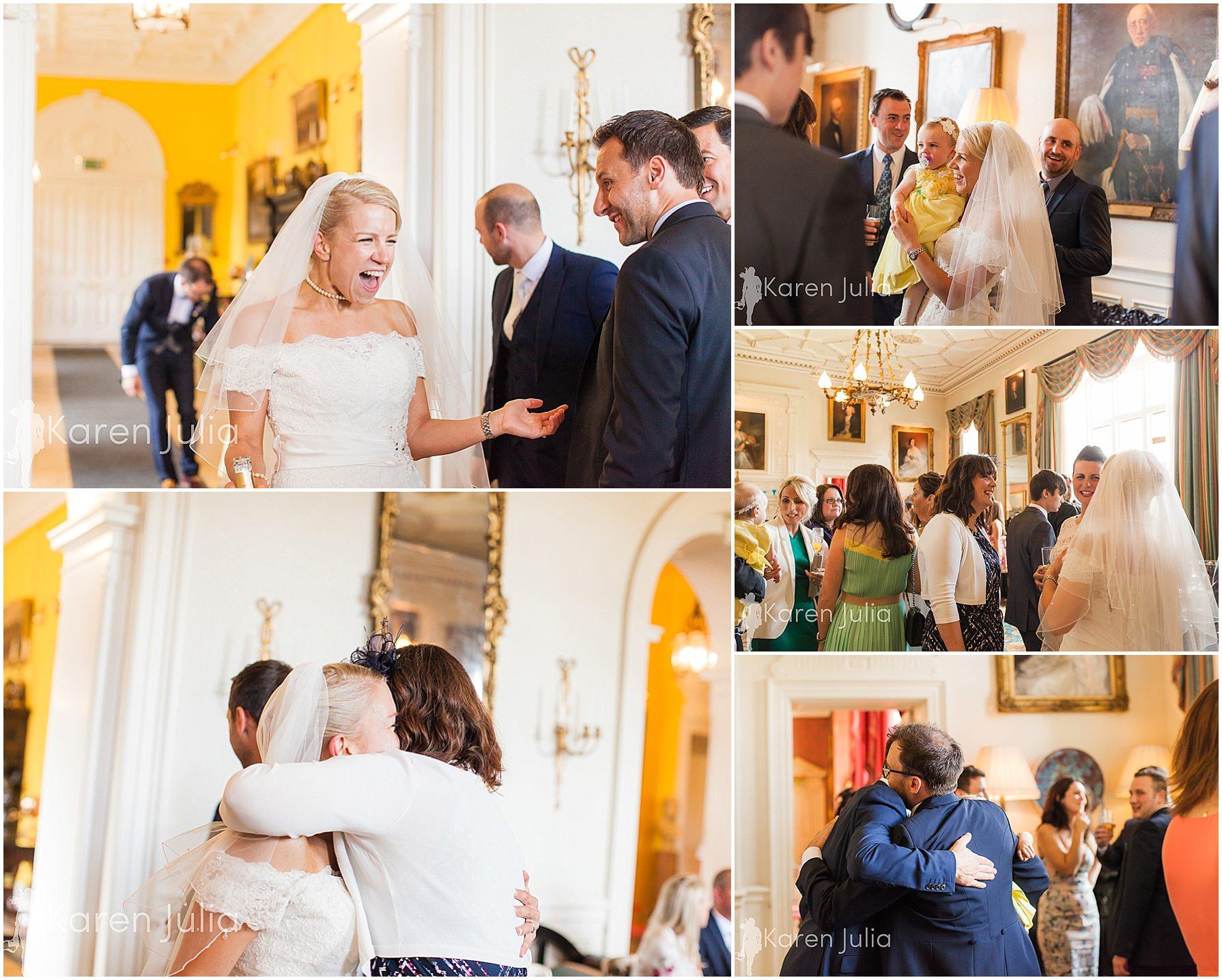 documentary wedding photos capesthorne hall
