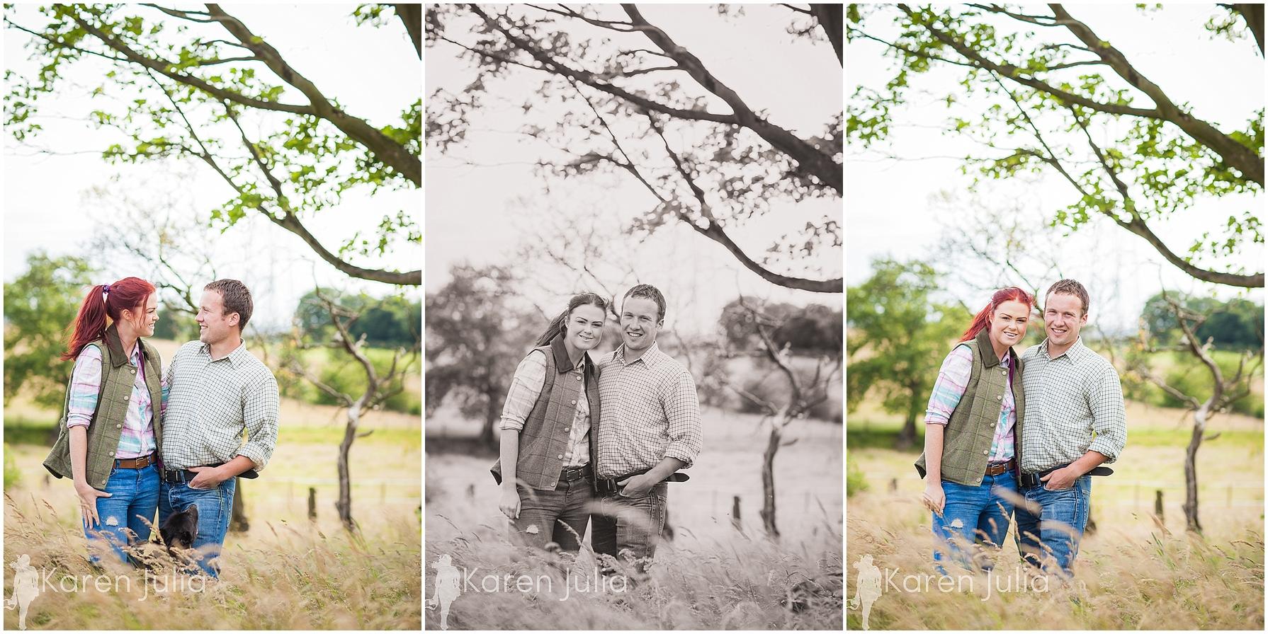 farm couple shoot