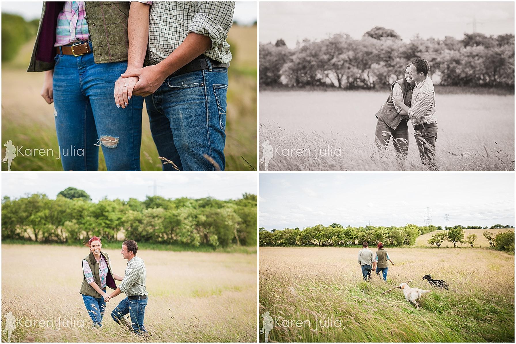 rural couple shoot