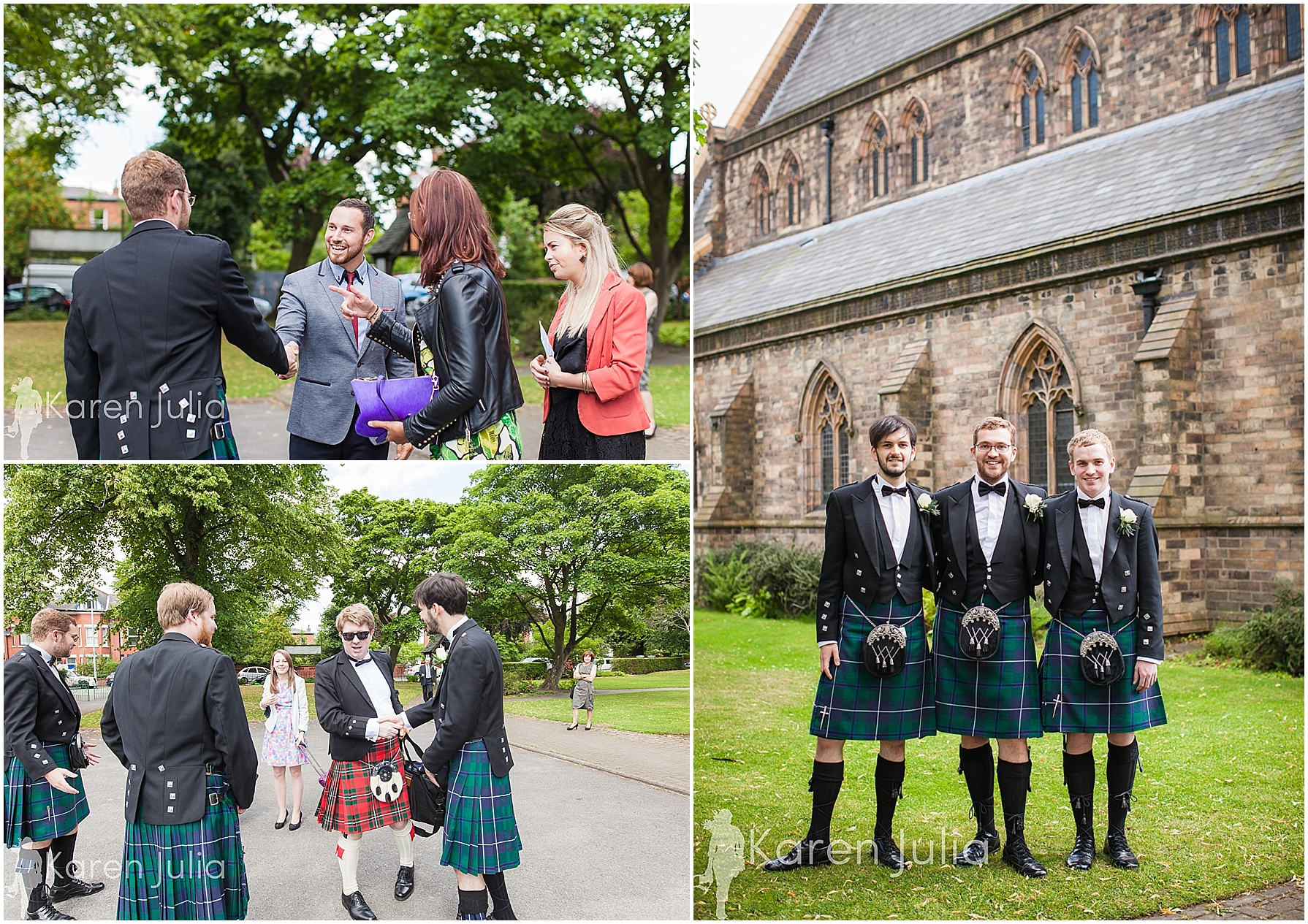 documentary wedding photography at church
