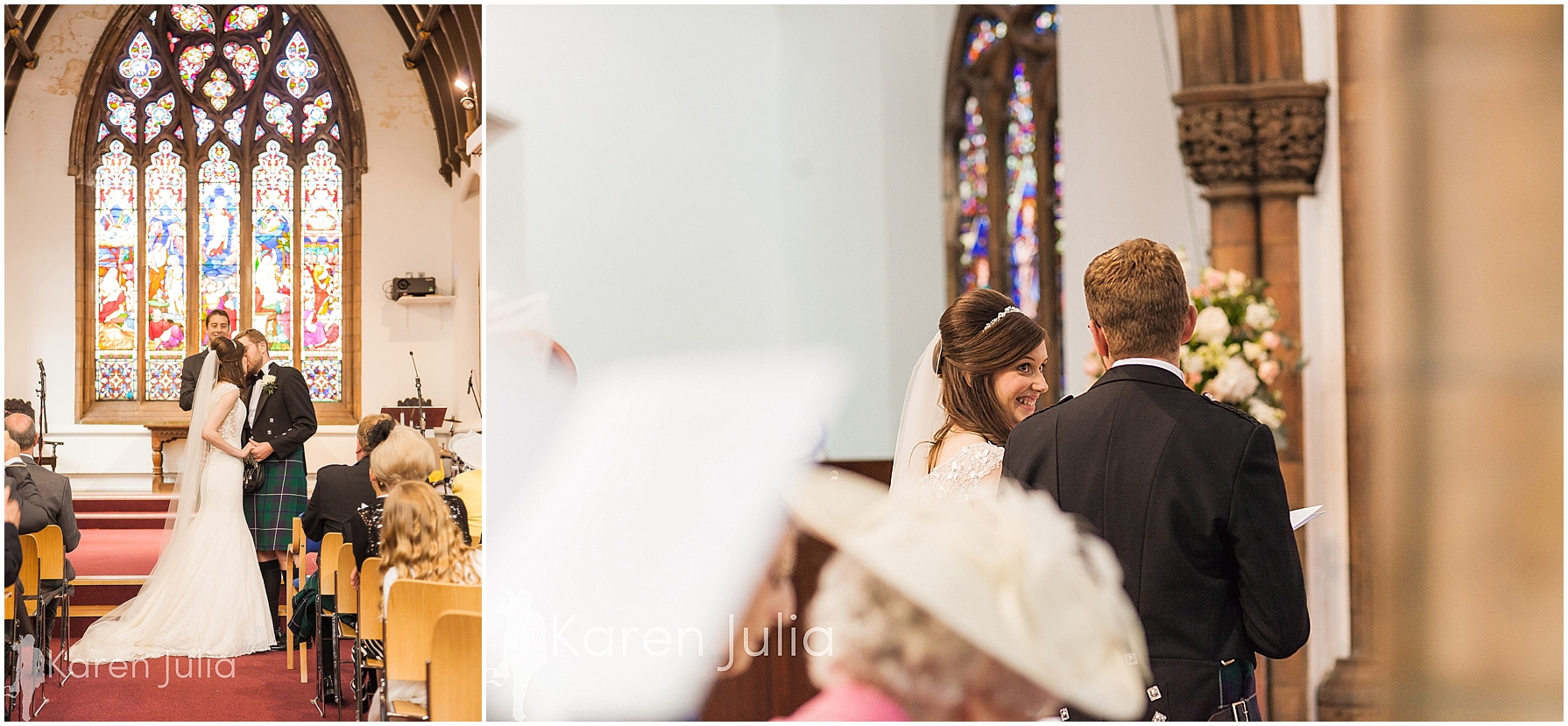 wedding ceremony in church