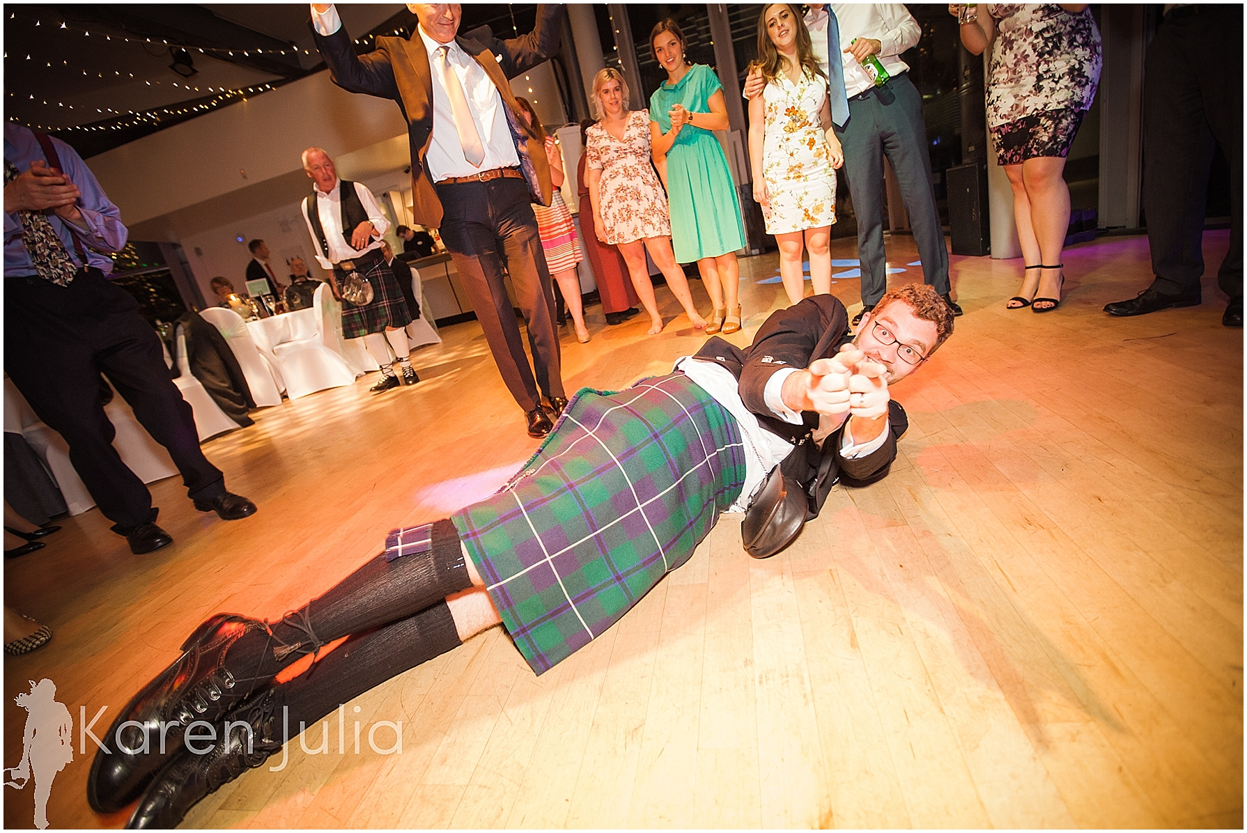 wedding dancing compass room lowry theatre