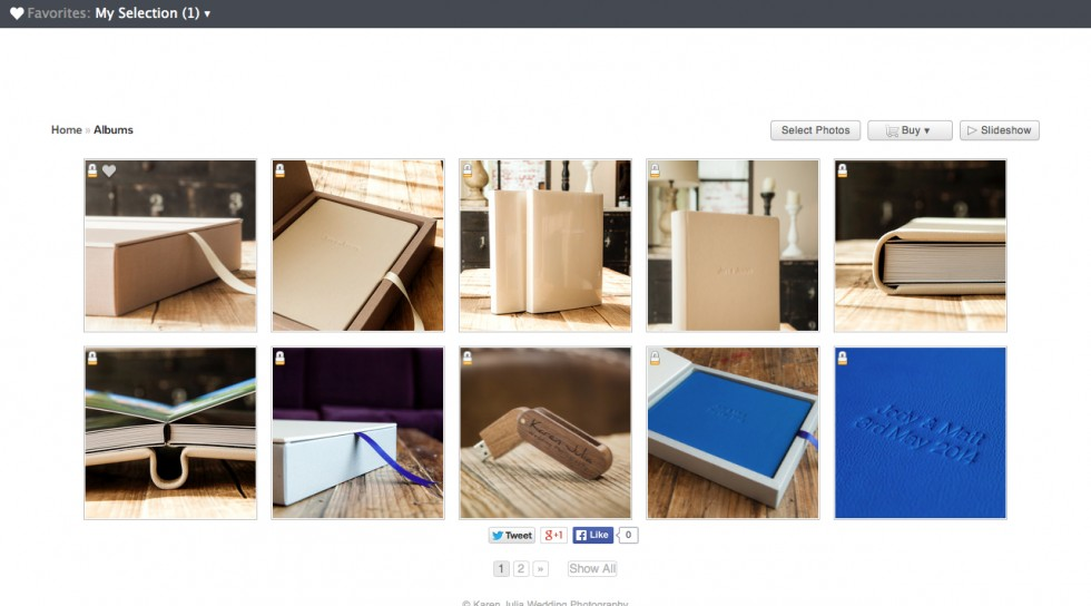 Website gallery screenshot