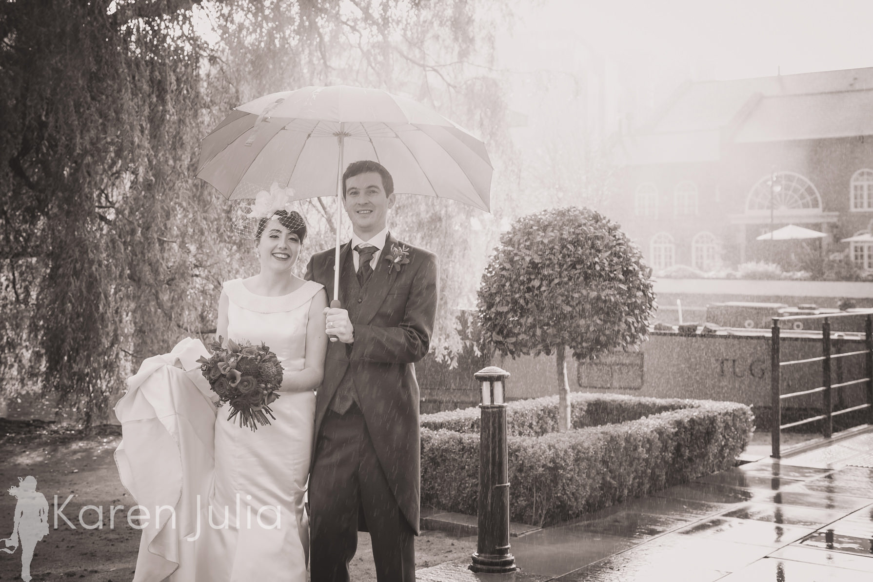 Geeky Rainy Castlefield Rooms Wedding Photography