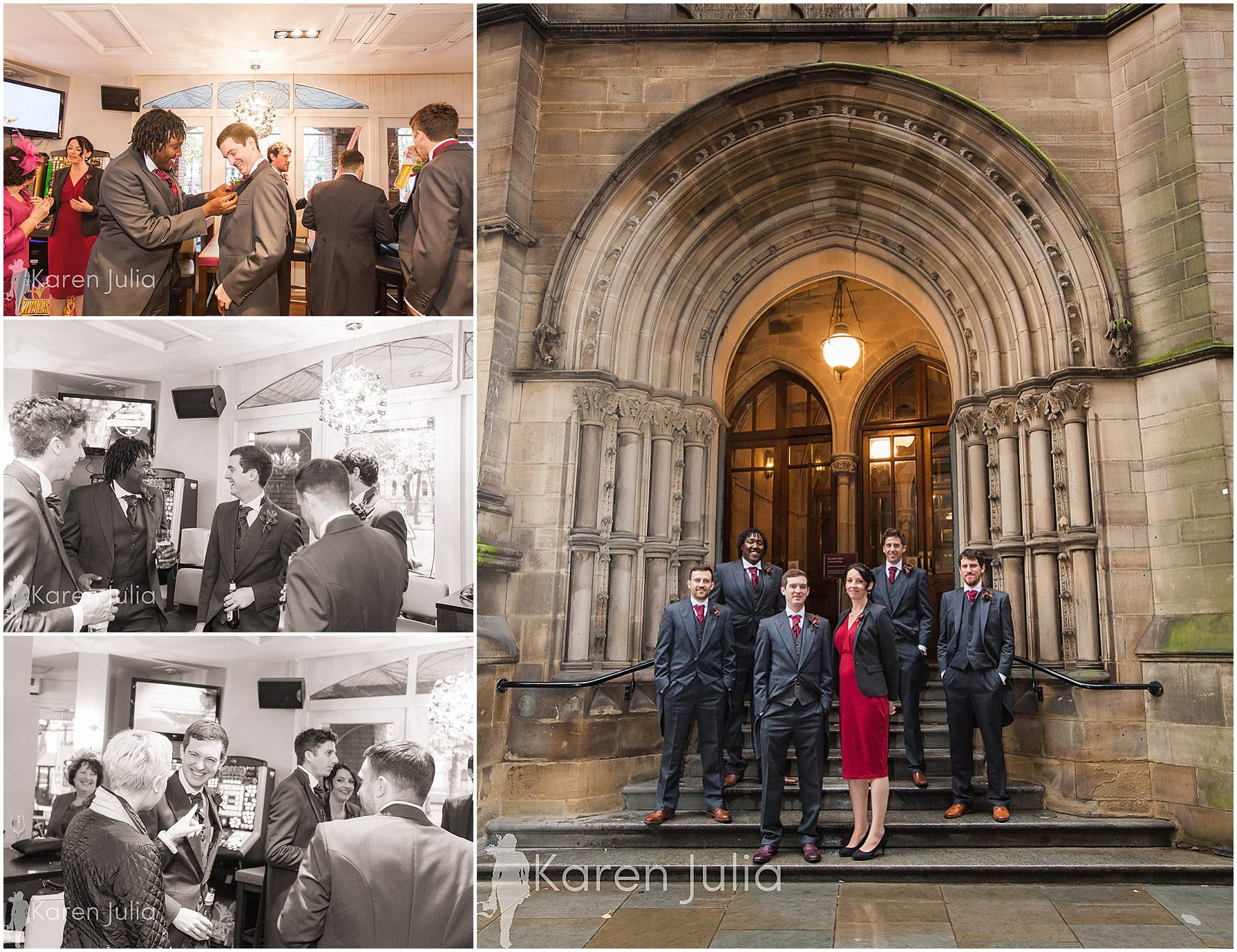 Manchester Towh Hall wedding photography