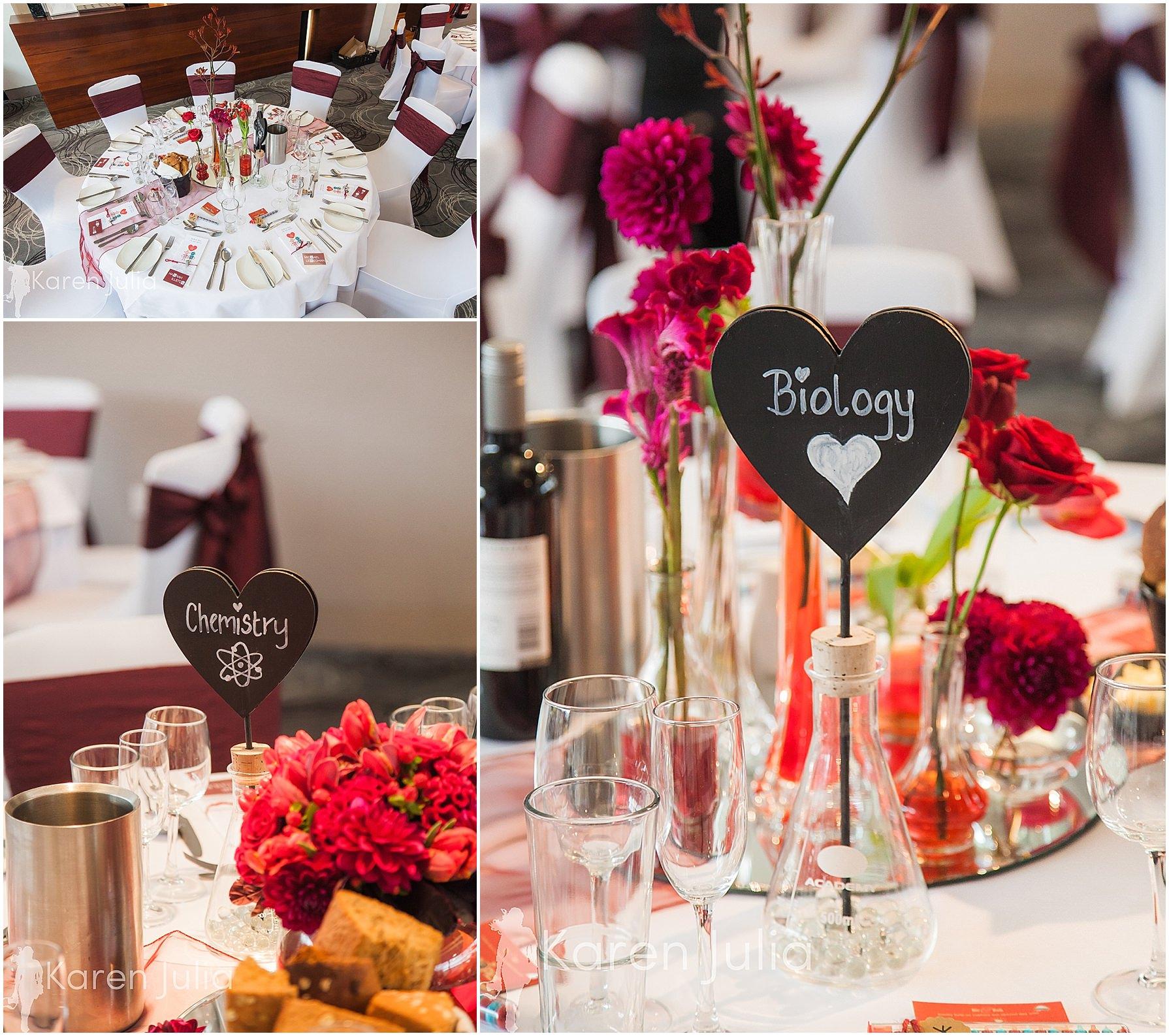 wedding breakfast room Castlefield Rooms