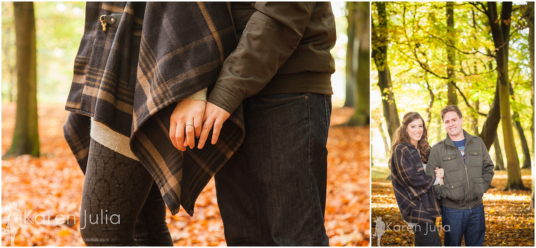 Sefton Park Autumn Engagement Shoot