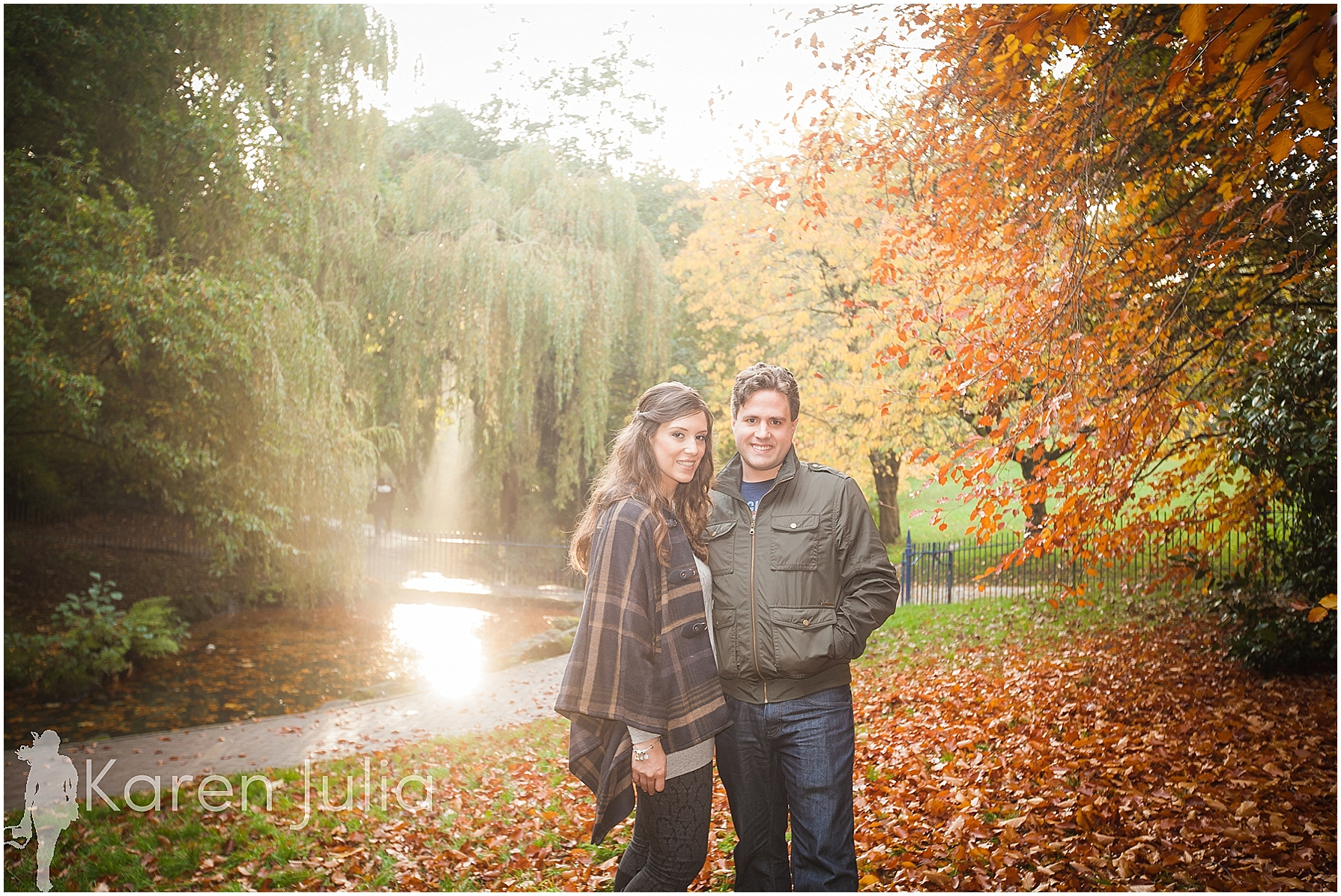 couple shoot in sefton park