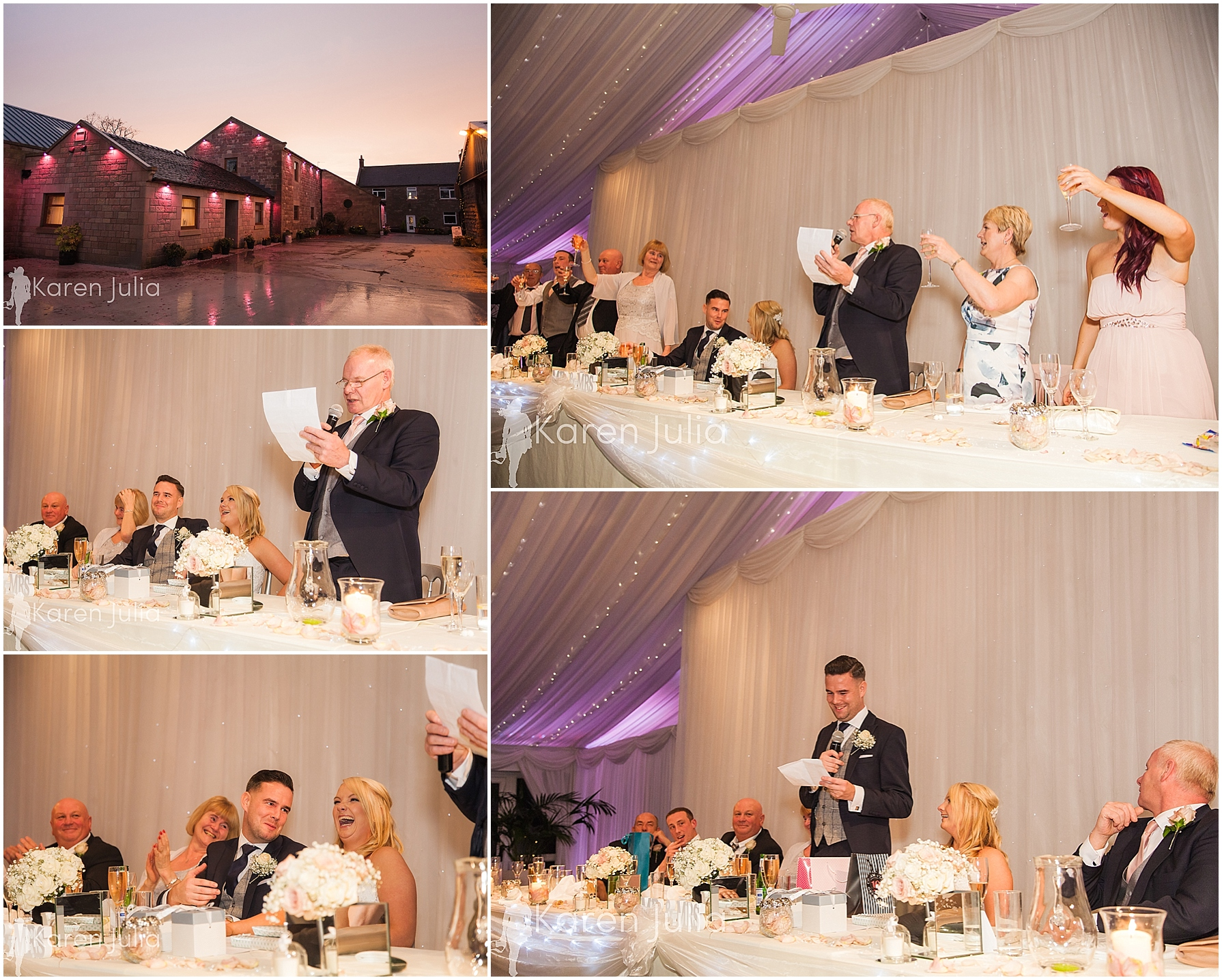 wedding breakfast & speeches