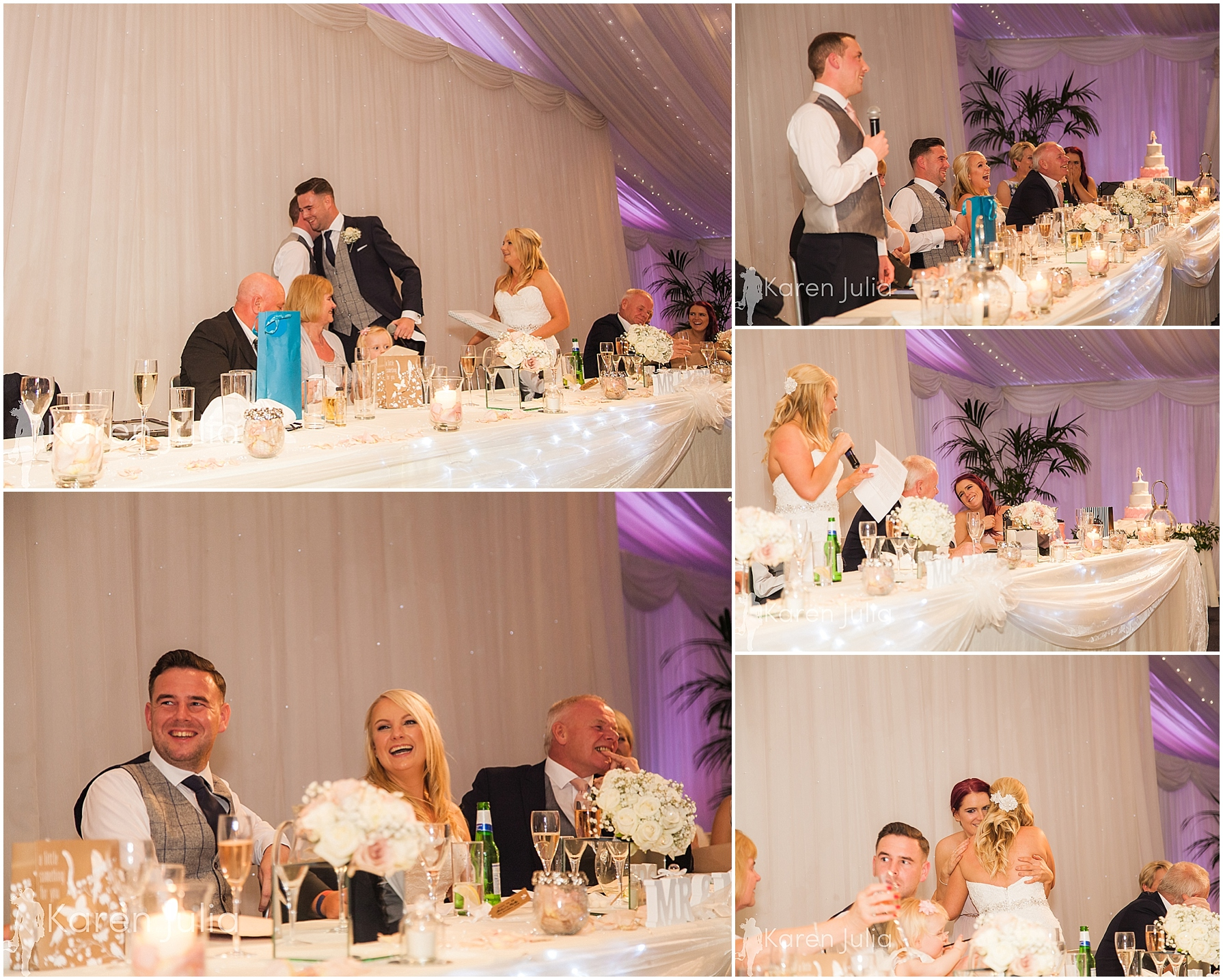 wedding breakfast and speeches