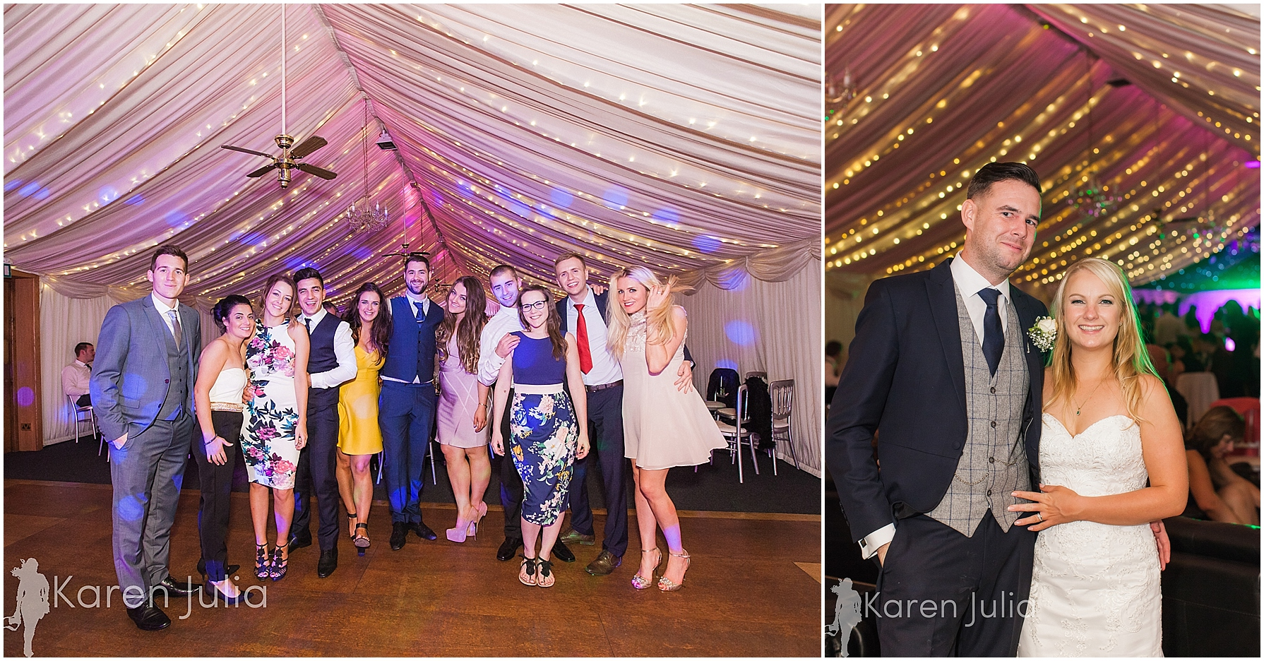 Winter Heaton House Farm Wedding Photography