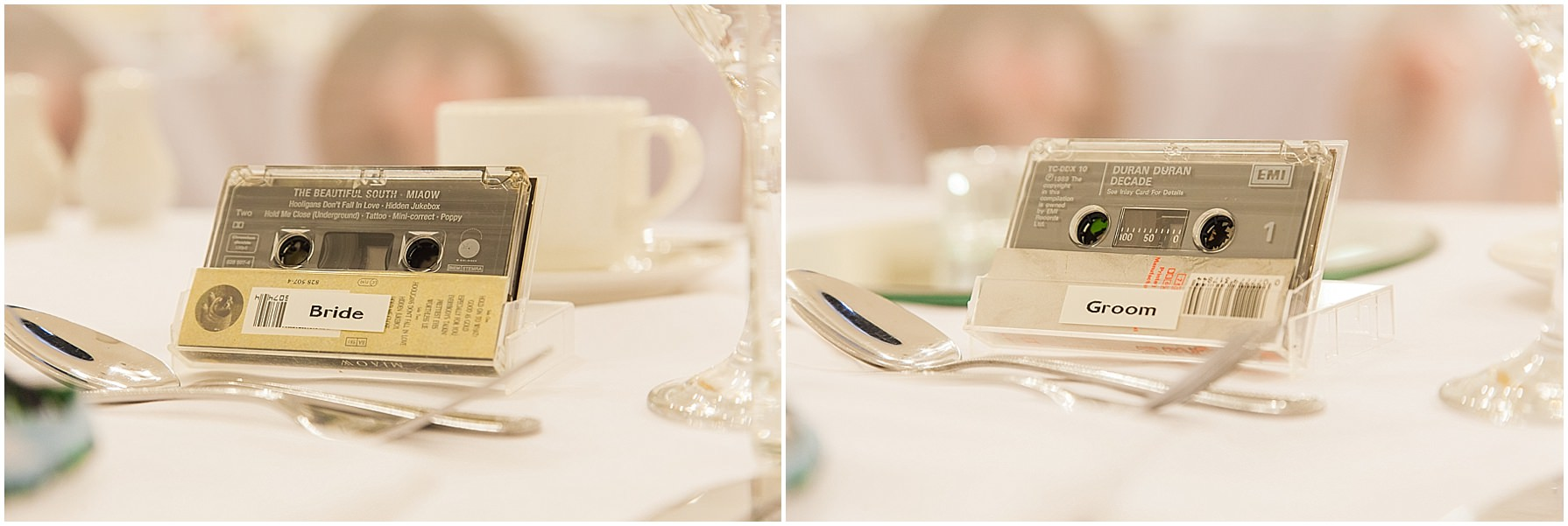 Manchester music themed wedding at Chancellors hotel