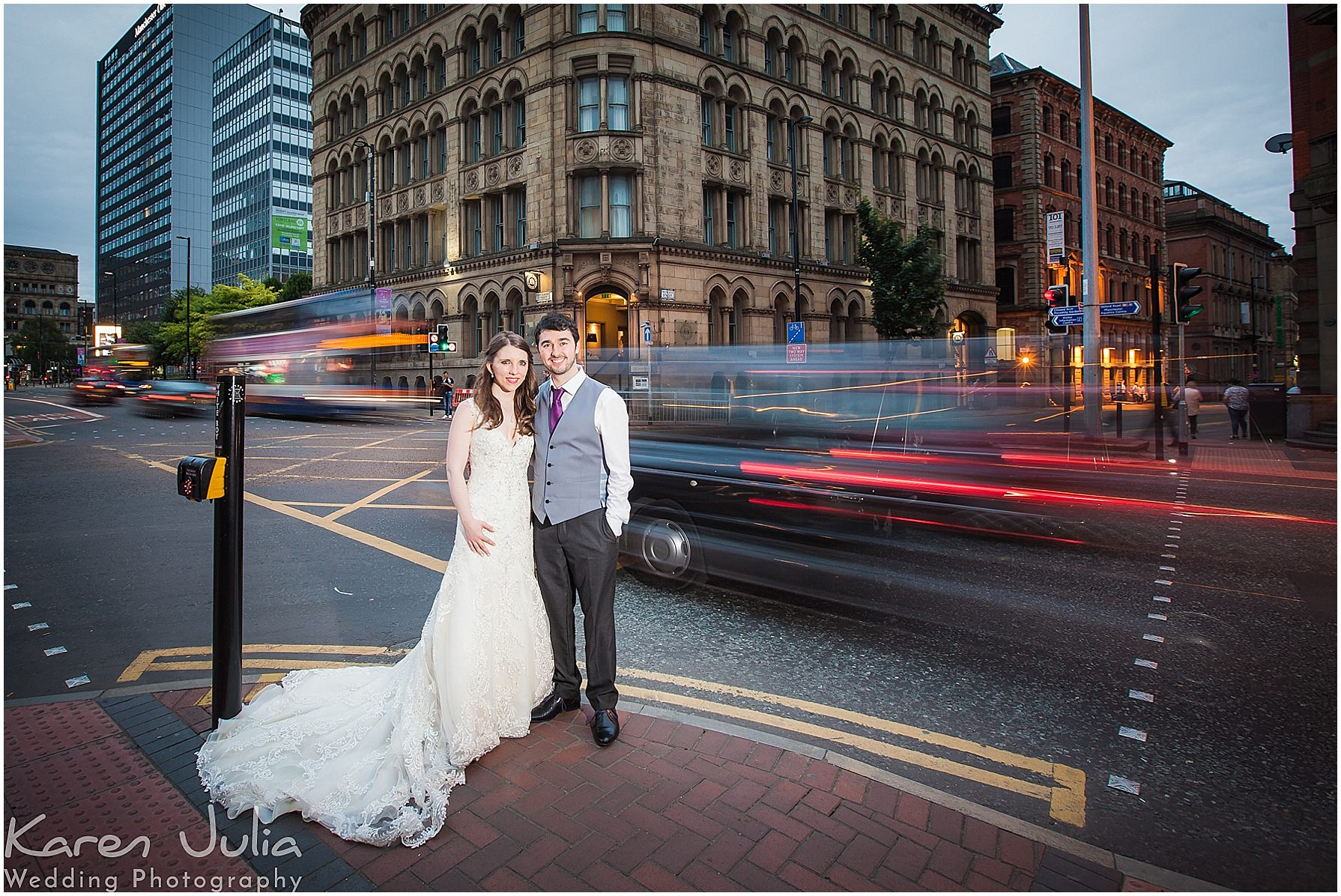 bride and groom portrait Townhouse Hotel Wedding Photography