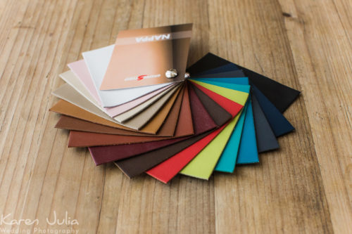 Graphi Studio Nappa Leather Swatches