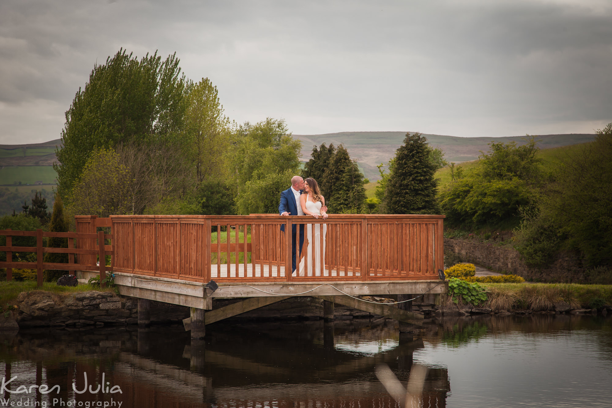 bride and groom portrait at the fishermans retreat