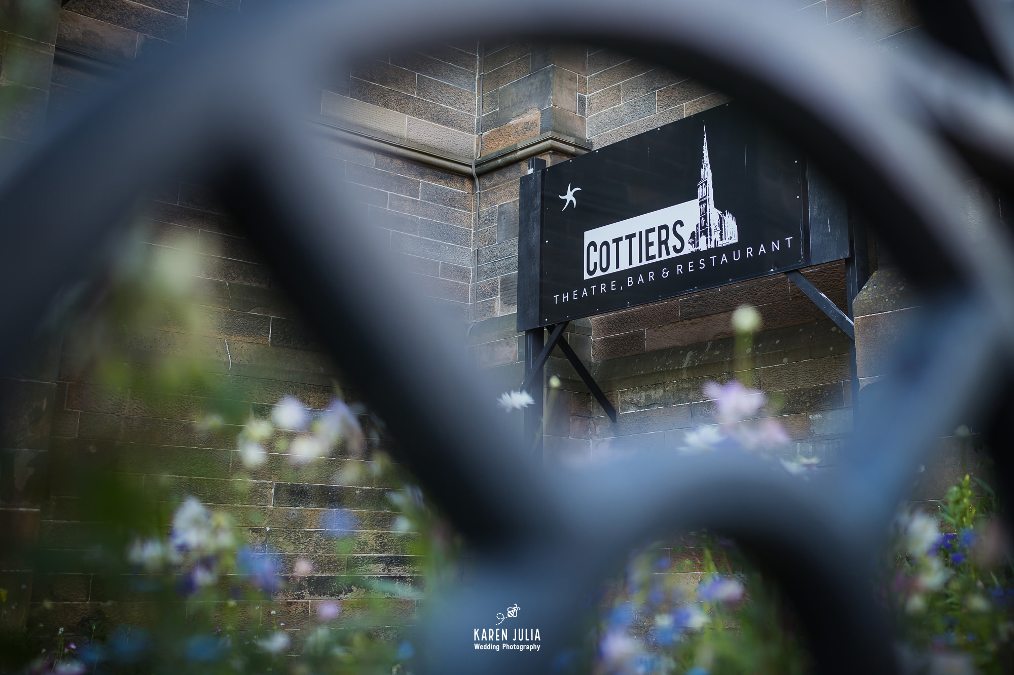 Cottiers Theatre Wedding Venue by Glasgow wedding photographer Karen Julia Photography